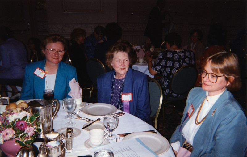 Vicary Maxant, Dot Bergin, and Ethel Salonen
