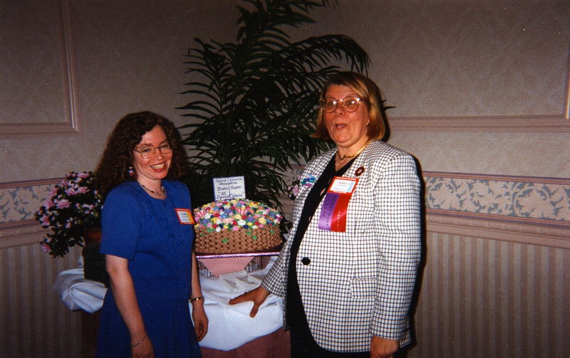 Barbra Rosenberg and Marilyn Steinberg.