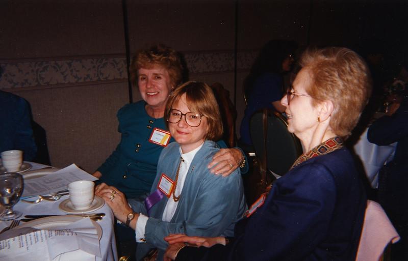 Virginia Day, Ethel Salonen, and Gladys Dratch.
