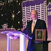 Mike Wilt of Bluestem Medical Foundation presents the Frank Phillips award