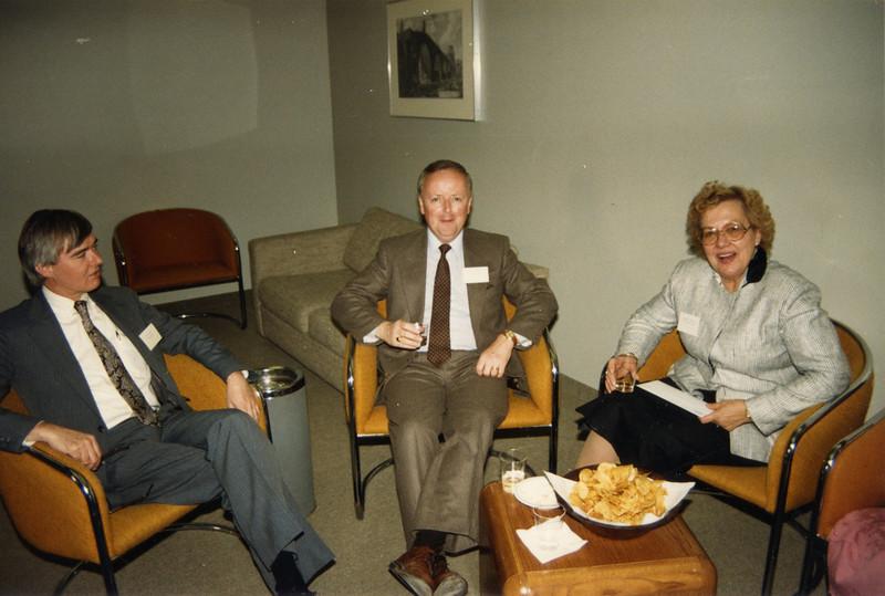 Malcolm Hamilton, John Cronin and Elfrieda Cavallari