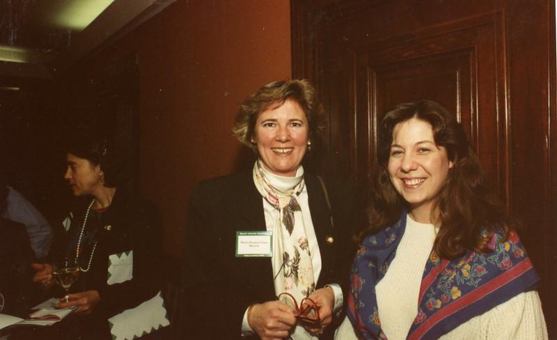 Left: Martha Berlund, Rebecca Smith