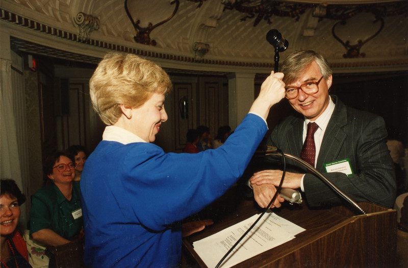 Sarah Warner and Malcolm Hamilton
