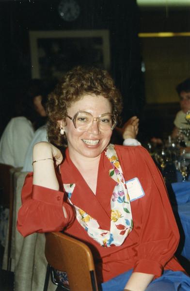 Annual Meeting, Simmons College, Monday, May 16, 1988.<br /> Barbra Rosenberg