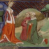 "Isabella (the ""She-wolf of France""), the queen consort of deposed King Edward II of England, in judgment of Edmund FitzAlan (1285-1326) and Hugh le Despenser (the Elder; 1262-1326), my 21st and 22nd great grandfathers, respectively.  She had both gruesomely executed.<br /> <br /> The line is traced from John Throckmorton (b.1601, England; d.1687, Middletown, Monmouth, New Jersey, my 9th great grandfather (maternal), according to the book, ""Ancestral Roots of Certain American Colonists Who Came to America before 1700""."