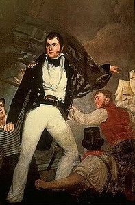 Oliver Hazard Perry (1785-1819), my 6th cousin, 4x removed.