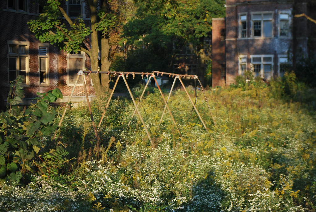 Playground at Pennhurst