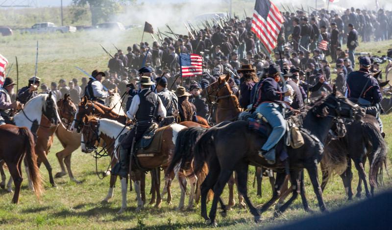 Cavalry Participated Too