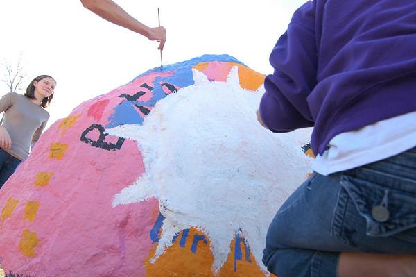 Antioch Elementary's Spirit Rock