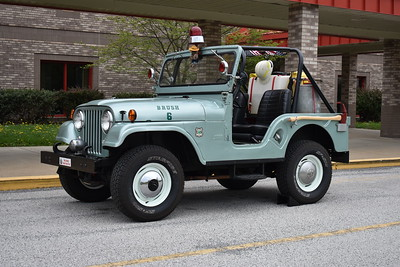 U.S. Forest Service - Department of Agriculture in North Carolina.  ex Brush 6 is privately owned and is a 1962 Jeep with a 50 gallon water tank.