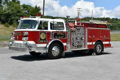 Summers County, WV and privately owned in 2019.  A 1982 ALF Century with a 1500/750.  Unknown original department owner.  Was sold to Hinton, West Virginia and Summers County, WV VFD purchased from Hinton.  Sold to collector in 2019.