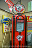 Antique Frontier Gas Pump