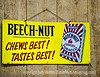 Antique Beechnut Advertising Sign