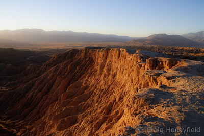 Anza Borrego Sandstone Canyon Fonts Point