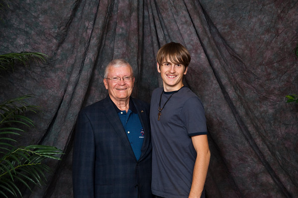 ASF's Dinner & a Movie Fred Haise Portraits