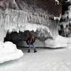 Pat Christman<br /> Many of the caves can be accessed by walking or crouching. Others require crawling to see the delicate ice sculptures inside.