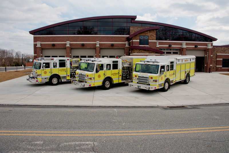 Our Newest Apparatus - Engine 88-1, Squad 88, and Rescue 88