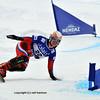 NENDAZ, JANUARY <br />  FIS World Championship Snowboard Giant Parallel Finals. Ladies world champion Tudgesheva.