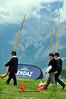 NENDAZ, players at the 9th International Festival of Alpine horns  2010 <br /> Festival Cors des alpes