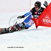 NENDAZ, JANUARY <br /> Mens finalist Nevin Galmarini competes in the FIS World Championship Snowboard Giant Parallel Finals