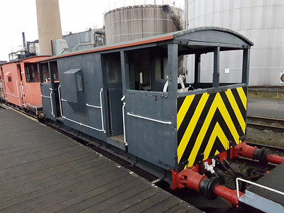 20t Brake Van DB993829 Appleby Frodingham Railway Society, Scunthorpe  28/01/17
