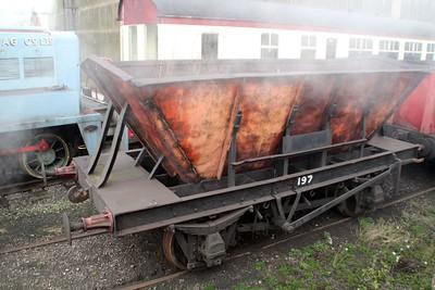 Ironstone Hopper 197 Appleby Frodingham Railway Society, Scunthorpe 24/11/12.