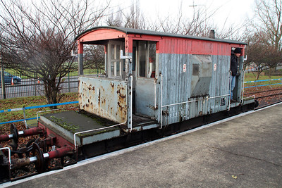 20t Brake Van B955160 Appleby Frodingham Railway Society, Scunthorpe 24/11/12.