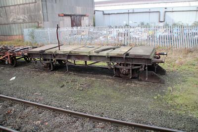 4w Roll Wagon / Long Flat 4702/953867 Appleby Frodingham Pres Society, Scunthorpe 24/11/12.