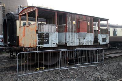 20t Brake Van DB993829 Appleby Frodingham Railway Society, Scunthorpe 24/11/12.