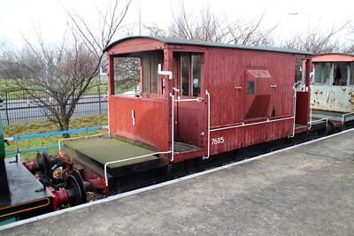 20t Brake Van 7605 Appleby Frodingham Railway Society, Scunthorpe 24/11/12.