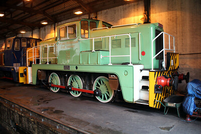 Yorkshire Engine Co ex Corus 0-6-0DE No1 (2877) at Appleby Frodingham Railway, Scunthorpe Tata 24/11/12.