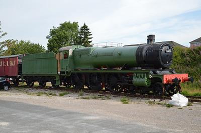GWR 4-6-0 4979 'Wootton Hall'  26/07/14.