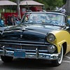 Appleton Car Show July 2013–1955 Ford Fairlane Sunliner (in memory of Don McCredie)