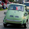 BMW Isetta 300 microcar, world's first mass production car to achieve 3L/100 KM.