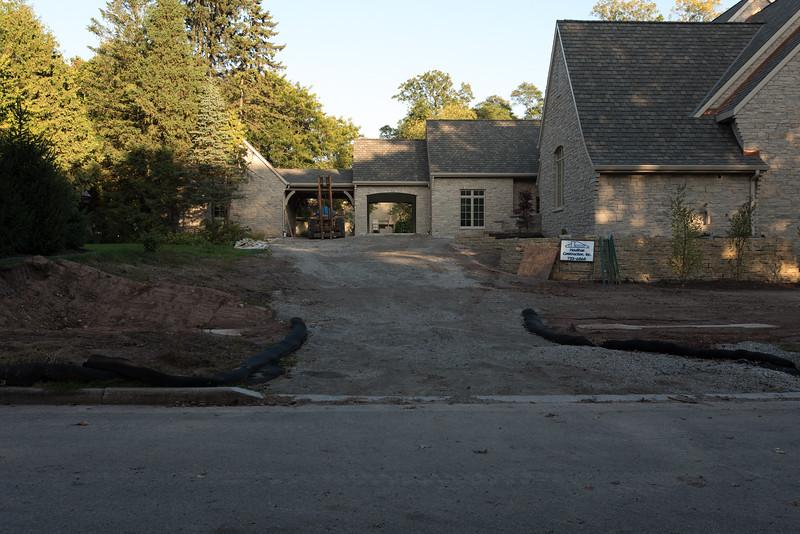 Construction Driveway Slope