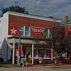 Old Texaco Station, now antique shop, Charlotte Court House, VA