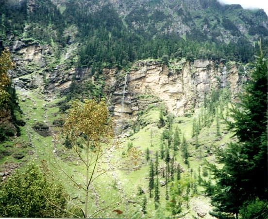 mountain falls MANALI SHANKAR