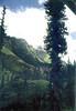 into mountains above MANALI SHANKAR
