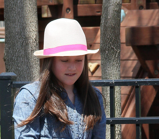 My little friend Annie in her Easter hat looking for the hidden Easter eggs.<br /> <br /> Photographer's Name: Jerry Byard<br /> Photographer's City and State: Anderson, Ind.
