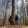 An interesting tree at Mounds State Park looked to be hugged.<br /> <br /> Photographer's Name: Jerry Byard<br /> Photographer's City and State: Anderson, Ind.