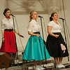 Sarah Stohler, Cassandra Ayers, and Morgan Vance singing at a recent LCS Motown Cage performance.<br /> <br /> Photographer's Name: Terry Lynn Ayers<br /> Photographer's City and State: Anderson, Ind.