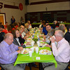 People ate at the Vision 2020 breakfast in Dieterich recently.