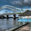 Jubilee Bridge from Widnes Promenade
