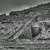 Ruined incline at dinorwic Slate Mine