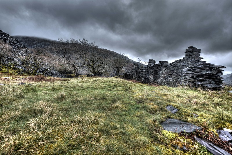 Former barracks at Dinorwic slate mine