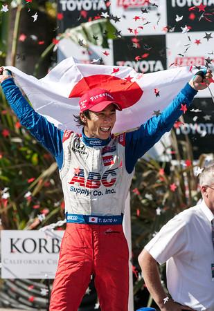 IndyCar Long Beach Auto Racing