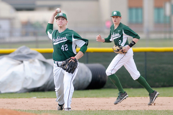 Don Knight   The Herald Bulletin<br /> Pendleton Heights hosted Heritage Christian on Thursday.