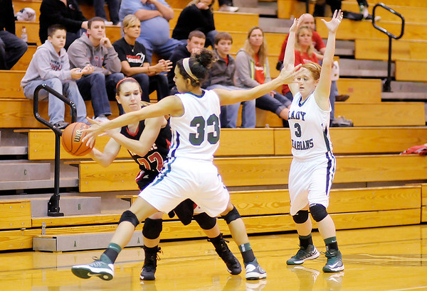 Pendleton Heights hosted Rushville on Saturday.