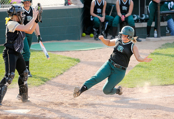 Don Knight   The Herald Bulletin<br /> Pendleton Heights hosted Mt. Vernon on Thursday.