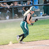 Don Knight | The Herald Bulletin<br /> Pendleton Heights' Sydney Windlan heads back to third as the Arabians hosted Mt. Vernon on Thursday.